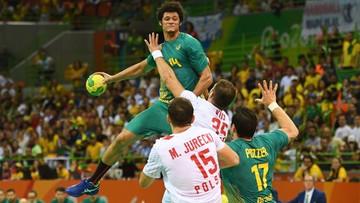 08-08-2016 05:16 Rio: polscy piłkarze ręczni ulegli gospodarzom. Przegrali z Brazylią 32:34