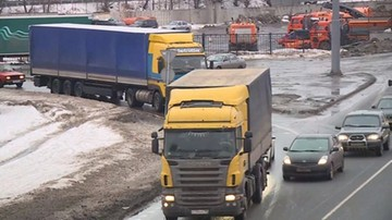 16-02-2016 19:27 Ukraina i Rosja zezwoliły na powrót swych ciężarówek spod granic