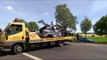 Zderzenie dwóch aut w Wielkopolsce. Nie żyje jeden z kierujących