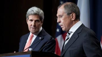 01-04-2016 22:06 Rozmowa Ławrow - Kerry. Ustalili kroki w celu umocnienia rozejmu w Syrii