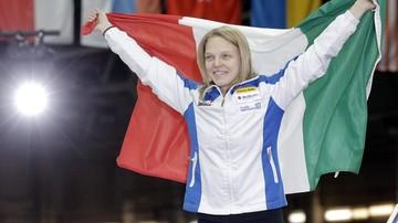 2017-10-23 Pjongczang 2018: Kobieta po raz drugi chorążym reprezentacji Włoch