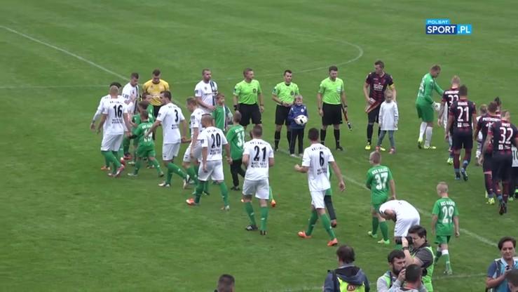Włókniarz Kalisz - Pogoń Szczecin 0:4. Skrót meczu