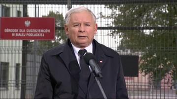 Kaczyński ws. uchodźców: Trzeba szanować interes Polaków