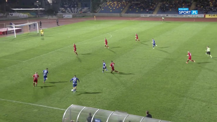 2017-05-15 Wisła Puławy - Stal Mielec 0:0. Skrót meczu