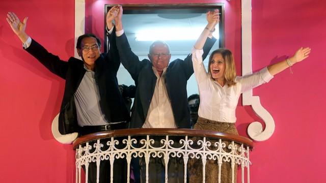 Peru: Wybory prezydenckie: nieznaczna przewaga Kuczynskiego, kandydata z polskimi korzeniami