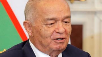 02-09-2016 06:25 Prezydent Uzbekistanu w stanie krytycznym. Rządzi nieprzerwanie od 27 lat