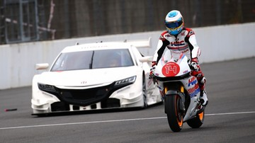 2015-12-08 Fernando Alonso jeździł... Hondą Marqueza
