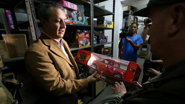 Gwiazdka po wenezuelsku: Rząd zarekwirował 4 mln zabawek i rozda je dzieciom