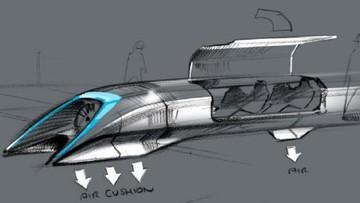 340 metrów na sekundę. Hyperloop ma połączyć Bratysławę, Wiedeń i Budapeszt