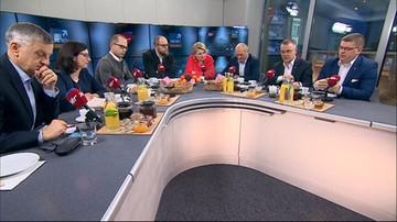 """2016-11-27 """"Poczucie przyzwoitości"""" i reakcja na """"siermiężną propagandę"""" - politycy o słowach ministra Glińskiego"""