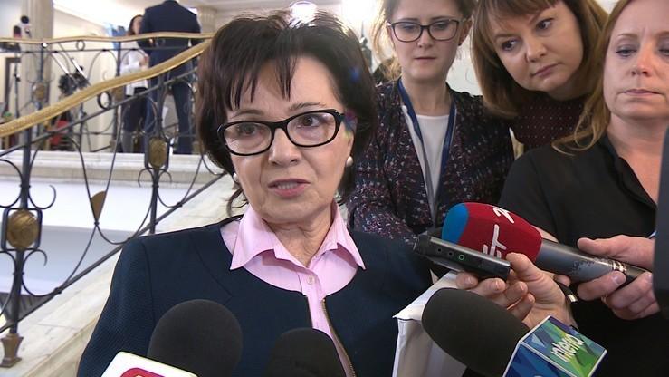 """""""Ulica i zagranica to metody walki z rządem"""". Elżbieta Witek o działaniach opozycji"""