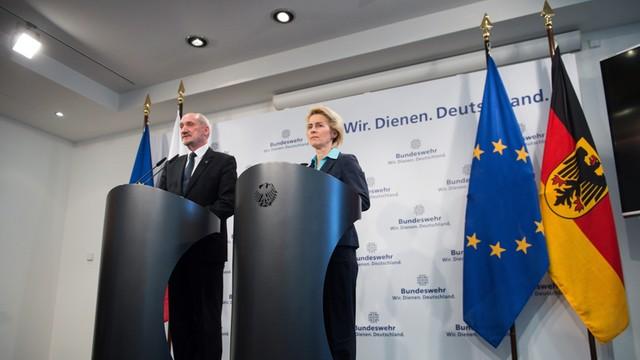 Macierewicz spotkał się z szefową niemieckiego MON - Rosja wspólnym wyzwaniem