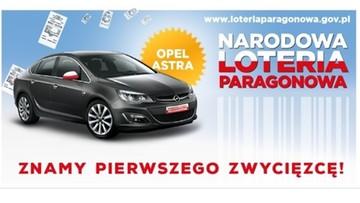 27-11-2015 08:11 Pierwszy zwycięzca loterii paragonowej wygrał samochód