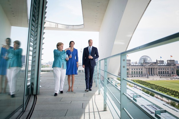 William i Kate w Berlinie