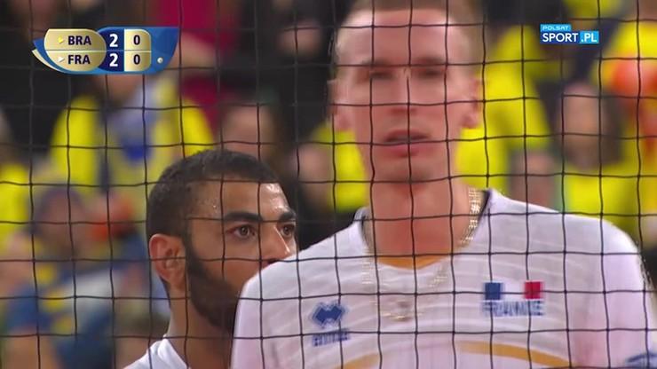 Brazylia - Francja 2:3. Tie-break finału Ligi Światowej