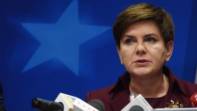 Premier Beata Szydło na szczycie klimatycznym w Paryżu