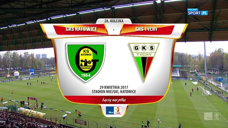 2017-04-29 GKS Katowice - GKS Tychy 3:0. Skrót meczu