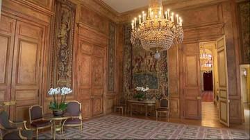 Najbardziej strzeżony budynek we Francji. Reporter Polsat News oprowadza po Pałacu Elizejskim