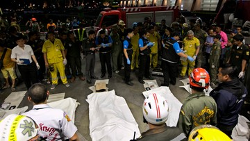 14-03-2016 06:59 Tajlandia: 8 osób zginęło w wypadku w jednym z banków w Bangkoku