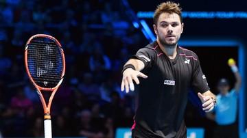 2015-11-16 ATP Finals: Rakieta nie słuchała Wawrinki. Łatwe zwycięstwo Nadala