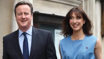 23-06-2016 11:52 Premier David Cameron zagłosował w referendum ws. Brexitu