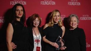 Kate Winslet inspiracją dla młodzieży. Aktorka odebrała nagrodę
