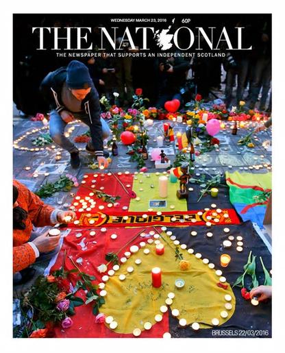 Media reagują na zamachy. Przegląd okładek światowych dzienników