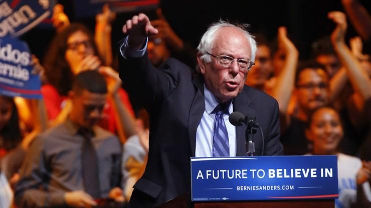Sanders walczy do końca. Wygrał z Clinton w Oregonie