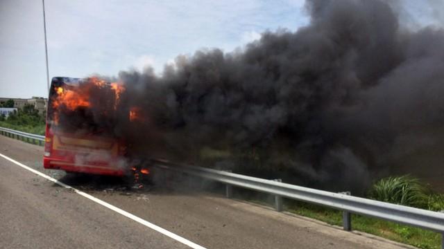 Tajwan: Autokar w płomieniach, 26 ofiar śmiertelnych