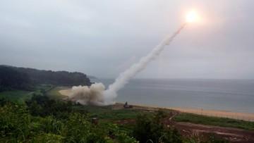 Pocisk wystrzelony przez Koreę Płn. minął się z samolotem Air France