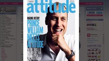 16-06-2016 13:48 Lekcja tolerancji od księcia Williama. Następca tronu na okładce gejowskiego pisma