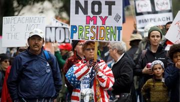 """21-02-2017 05:29 Tysiące Amerykanów demonstrowały przeciwko Trumpowi w """"Dniu prezydentów"""""""