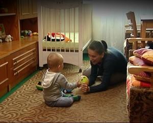 Dziecko Polki w ręce Niemca