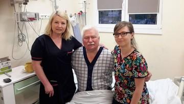 12-07-2017 11:15 Lech Wałęsa wyszedł ze szpitala