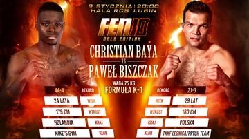 2015-12-02 FEN 10: Paweł Biszczak vs Christian Baya w walce wieczoru