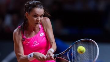 Zaczęła fatalnie, później przegrała tylko 3 gemy. Radwańska w ćwierćfinale turnieju w Stuttgarcie