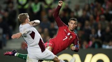 2016-11-13 El. MŚ 2018: Portugalia rozbiła Łotwę. Dwa gole i zmarnowany karny Ronaldo