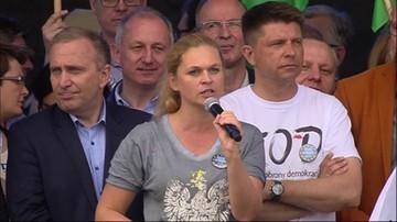 Nowacka: Kaczyński umie tylko jedno - dzielić i budować mury