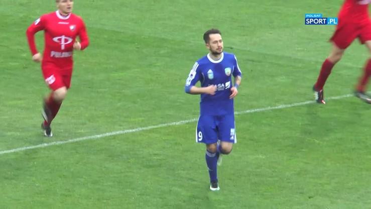 2017-05-08 Miedź Legnica - Wisła Puławy 1:1 . Skrót meczu