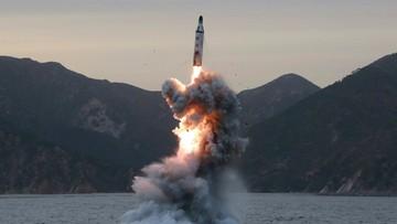 29-04-2017 09:24 Korea Północna przeprowadziła test rakiety balistycznej. Trump komentuje