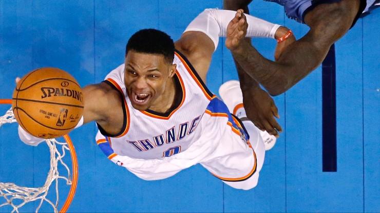 NBA: Rekordowe 25 trójek Cavaliers, popis Westbrooka