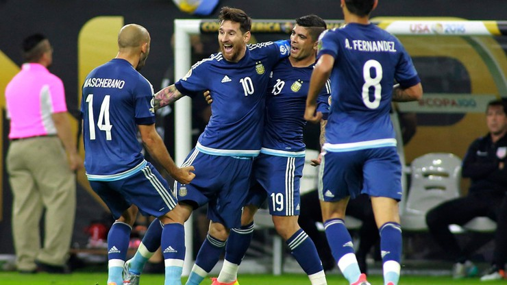 Argentyna w finale Copa America. Rekord Messiego