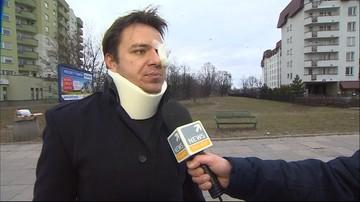 16-02-2016 14:55 Pobili, kopali i grozili śmiercią. Strażnicy miejscy zaatakowali mieszkańca Warszawy