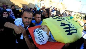 14-02-2016 17:00 Izraelskie wojsko zastrzeliło trzech nastolatków, którzy zaatakowali żołnierzy i policjanta