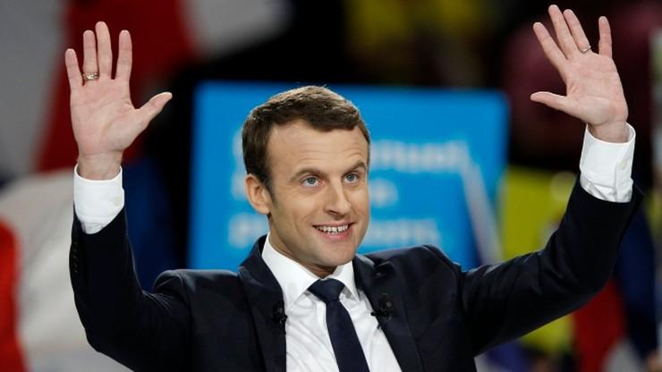Sondaż: Macron wygra pierwszą turę wyborów we Francji; Le Pen będzie druga