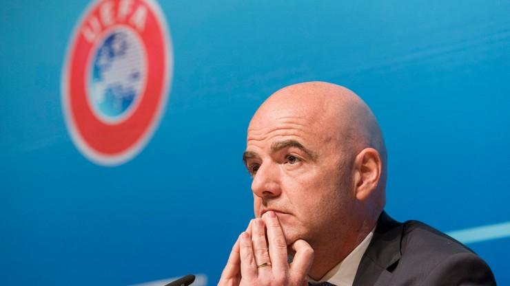 """Policja weszła do siedziby UEFA. Chodzi o aferę """"Panama Papers"""""""