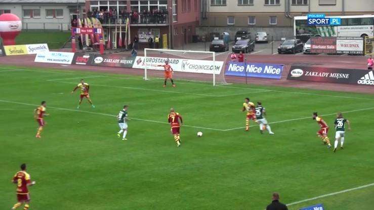 Chojniczanka Chojnice - Olimpia Grudziądz 0:0. Skrót meczu