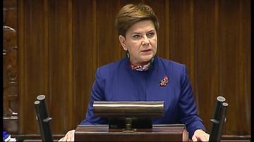 Premier w Sejmie: demokracja w Polsce ma się dobrze. Dowodem na to protesty na ulicach