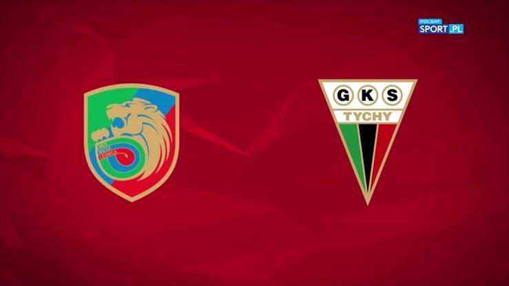 Miedź Legnica - GKS Tychy 2:1. Skrót meczu