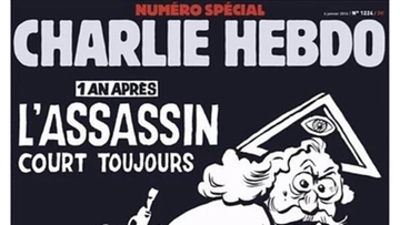 Rocznica ataku na Charlie Hebdo. Tak wygląda okładka numeru specjalnego